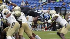 Sanders' late TD catch helps Georgia Tech beat Duke 31-27