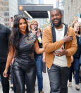 Supportive Exes! Kanye West Spotted With Kim Kardashian Before Her 'SNL' Debut