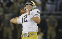 Tyler Buchner accomplishes a Notre Dame first