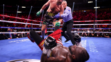 Tyson Fury def. Deontay Wilder via knockout: Best photos from the trilogy in Las Vegas