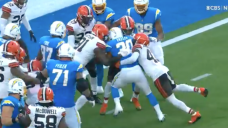 The Browns kept their hopes alive by intentionally forcing Austin Ekeler into the end zone