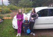 N.S. mother and kids recall harrowing escape from house fire, thankful for community support