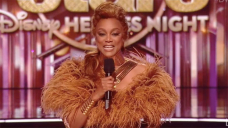 Tyra Banks Channels 'The Lion King' For Disney Heroes Night On 'DWTS'