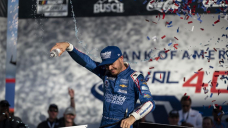 AUTO RACING: Larson's lead grows as Cup Series goes to Texas