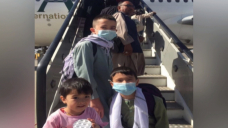 Afghan family crosses into Pakistan, heading to Canada after months of hoping