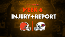 17 Browns listed on 1st injury report of Week 6; 9 DNPs